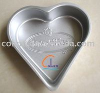 heart carbon steel cake mold CK-C002A
