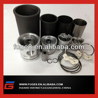 piston and liner assembly for Mitsubishi engine 8DC8