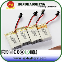 hot sale best price rechargeable rc battery 602540 li-ion x5c for helicopter