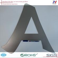 SGS,custom metal stamping letter/metal alphabet letter beads/cutter metal letter as your samples,drawings,ISO OEM ODM