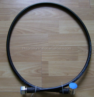 "Customized Length 1/2""Super flexible Cable With 7/16 DIN male to 7/16 DIN male connectors plug to plug Jumper Cable"