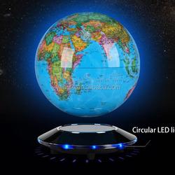 Popular UFO base magnetic levitation globe charming new music box gift