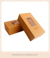 Log vintage wood wine box, excellent wood gift boxes for wine bottles, single bottle wine carrier box