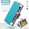 high quality mofi brand core series leather phone case for gionee elife e6 case
