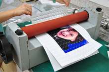3d clear photo paper cold lamination