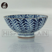 porcelain bowl factory direct whosale Red hand-printing high-grade ceramic blue and white porcelain bowl