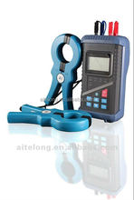 Digital double clamp earth resistance and earth continuity tester