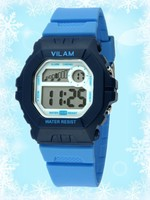 Vilam promotion cheap plastic silicone interchangeable faces watch