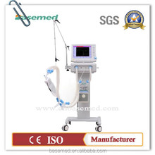 Chinese manufacturer discounted ventilator medical ICU BASE850 for hospital and distributors