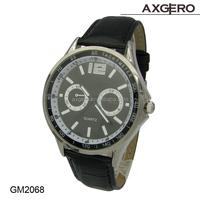 2015 Factory price leather watch, Newest man sport custom watch, Vogue China wrist watch