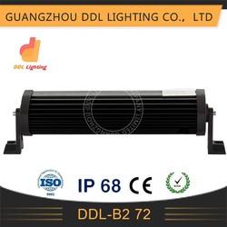 led motorcycle lights72w atv boats truck mini tractor led bar light