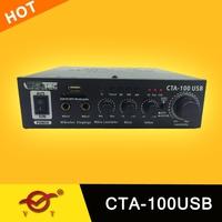 fashion 1gb mp3 player power cta-100usb amplifier with Karaoke