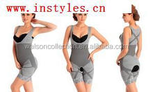 2015 Instyles Lady Women Natural Bamboo Charcoal Body Shaper Underwear Slimming Suit Bodysuits