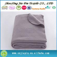 Bottom price best selling pole fleece blanket