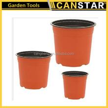 Hot selling plastic nursery plant flower pot/plastic flower pot trays