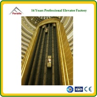 FORALLS panoramic glass elevator ISO9001