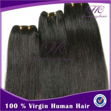 Deft design silk straight natural color hair weaving