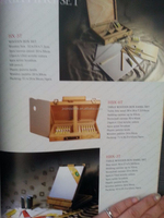 TABLE WOODEN BOX EASEL SET(HBX-6T)