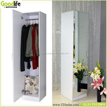 Chinese design furniture wooden antique furniture mirrored wardrob