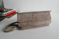 Genuine leather shoulder bag ,nubuck leather bag Y-2