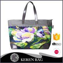 2016 New canvas tote bag Designer Digital Print Women Hand Bags Manufacturer canvas bag