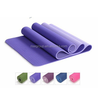"custom printed tpe yoga mat/TPE Super Grip Yoga Mat Non-slip with Carry Bag&Strap 72"" X 26"""