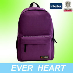 Xiamen XZH 600D polyester school bag backpack