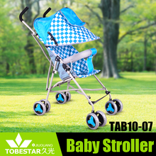 Cheap baby stroller in China/hot baby product with canopy/ stainless steel material baby carrier