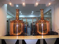 micro brewing equipment pub brew cafe brew equipment 200l small beeer factory equipment