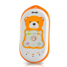 quad band gsm unlocked mobile phone kids gps locator tracking position cell phone