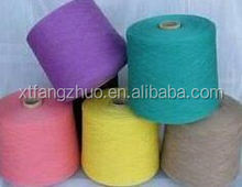 Hottest!!! 2014 recycled carpet acrylic cotton polyester blended regenerated acrylic yarn for carpet