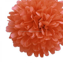 Yiwu Factory Wholesale Poppy Mini Tissue Paper Pom Poms Flowers Balls - Pack of 8 Party Kit BIRTHDAY PARTY WEDDING DECO