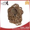 Wholesale price synthetic turkish hair accessory blonde hair bun pieces