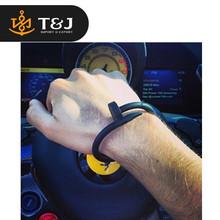 >2015 Silica Gel Nail Bracelet For Men Women Textured Silicone Bangles Hiphop Energy Pulseiras basketball rubber Nail Bracelets-