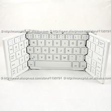 Tri-Fold Mini Wireless Bluetooth Keyboard for iPhone 4 5 6 Plus iPad mini 3 Air