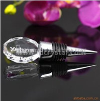Reasonable small crystal crafts, crystal bottle stopper in the market