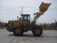 SDLG LG953L 5ton wheel loader with CAT engine and ZF transmission pilot control for Iran