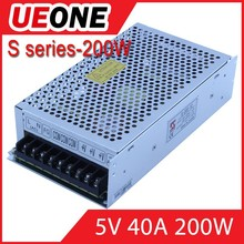 200w 5v display board power supply switching power supply 5v 40a