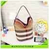Wholesale custom fashion nylon tote bag from china