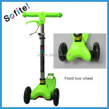 New adjustable and folding style pro kick scooter for sale