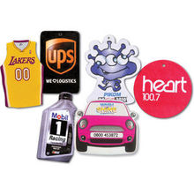 custom paper air freshener, promotional car products, mobile paper air freshener