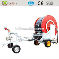 South Africa Type Automatic Traveler Hose Reel Sprinkling Irrigation Machine