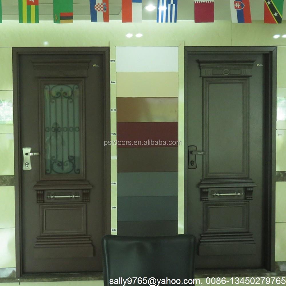 White Color Screen Security Door Buy Exterior Safety Doorsteel