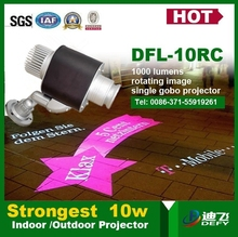 10W Import Led Chip Gobo Projector Of Beautiful Projected Image