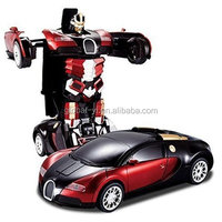 The Transform Autobot--Remote Controlled Vehicle Transform Toys