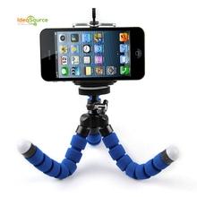Universal Phone Holder Digital Camera Flexible Octopus Leg Tripod Bracket Selfie Stand Adapter Mount Monopod Bubble For Mobile