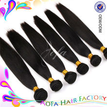 2014 natural color 6a grade virgin unprocessed remy hair