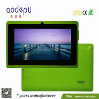Zhixingsheng best 7 inch tablet pc with front and back camera ZXS-Q88