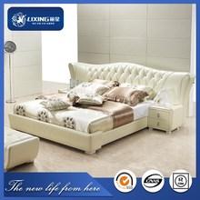 3D788# Super king size bed , furniture bedroom, soft bed