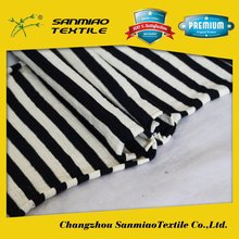 SANMIAO Brand top quality low price navy and white stripe fabric SBWHCP-165